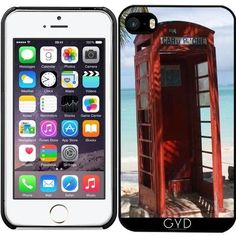 Hülle für Iphone 6 '') - Caribbean Telefonzelle by Christine aka Iphone 6 Cases, Calendar, Clock, Messages, Telephone Booth, Iphone Case Covers, Watch, Life Planner