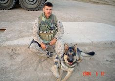 Rebecca's War Dog of the Week: Sgt. Rex, one of the first dogs to serve in Iraq, dies
