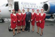 Είναι η πρώτη φορά που ελληνικός όμιλος tour operator μεταφέρει τους επιβάτες του με την ιδιόκτητη εταιρεία του και το αεροσκάφος του. Ellinair, Kiev, Киев, thessaloniki, mouzenidis, Briansk, Voronezh, Stavropol, Kaliningrad, Riga, Mineralnye Vody, Odessa, Donetsk, Lviv, Moscow, Volgograd, Arkhangelsk, Astrakhan, Omsk, Kazan, Novosibirsk, Saint Petersburg, Perm, Samara, Chelyabinsk, Yekaterinburg, Nizhny Novgorod, Astana, Kharkiv, Bari Thessaloniki, Dresses, Fashion, Vestidos, Moda, La Mode, Fasion, Dress, Day Dresses