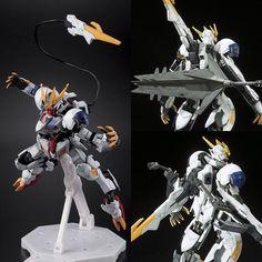 #Gundam #Barbatos #Lupus REX! I'm having #mecha back fetish! #gunpla #bandai #modelkit #plamo #ironbloodorphans #instagood