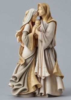 Enesco Foundations Nativity Holy Family Masterpiece Figurine 12 Inches for sale online