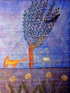 Lynne Curran - the Hidden Heart (detail)...I attended a tapestry course with Lynne in the 1990's