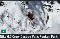 The Nike Snowboarding Project