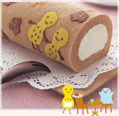 Japanese deco roll pattern free