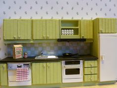 My reupholstered Lundby kitchen