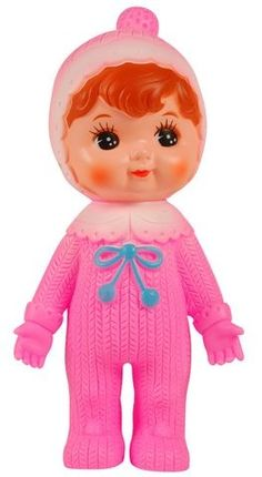 Woodland Doll In Bright Pink
