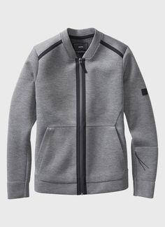 Neo Bomber Jacket (Grey) | ISAORA