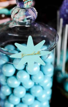 Under the Sea First Birthday Party gumballs #babyshowerideas4u #birthdayparty  #babyshowerdecorations  #bridalshower  #bridalshowerideas #babyshowergames #bridalshowergame  #bridalshowerfavors  #bridalshowercakes  #babyshowerfavors  #babyshowercakes