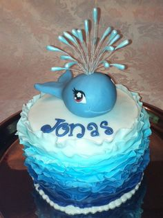 Whale cake I like cake Pinterest Discover best ideas about