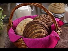 Tradicionales Conchas Caseras de Chocolate y Vainilla