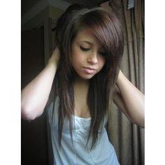 Emo hairstyles Hair Styles for Long Brown Hair