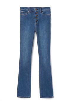 Button-Front Pants