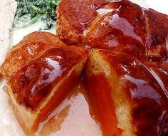 Sweet Potato Dumplings using crescent roll recipe from Mama's Southern Cooking Potato Dumpling Recipe, Sweet Potato Dumplings, Crescent Roll Recipes, Crescent Rolls, Sweet Potato Patties, Your Soul, Sweet Potato Recipes, Glass Baking Dish