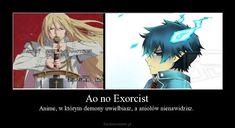 Ao No Exorcist, Blue Exorcist, Polish Memes, Anime Mems, Me Me Me Anime, Manhwa, Otaku, Cosplay, Cartoon
