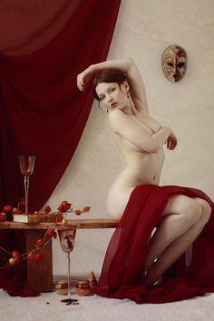 © Magnus Roth & Lilly Flower 'La Muse De L'artiste'