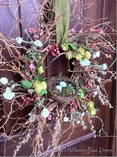 Tutorial:  Easter door decor