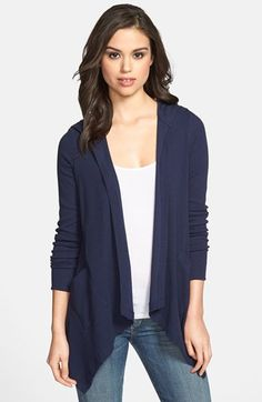 Olivia Moon Thermal Knit Hooded Cardigan available at #Nordstrom