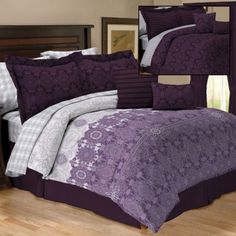 10 Piece Reversible Bedding Sets   $39.99 Any Size at Anna's Linens @zuuzs .com and @zuuzStyle One Site, So Many Looks.