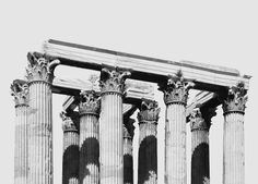 "berninipanini: ""Temple of Olympian Zeus, Athens """