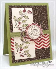 Krista's Stamp Spot: Another Holiday Catalog Project