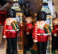 London Baubles at the Liberty Christmas shop