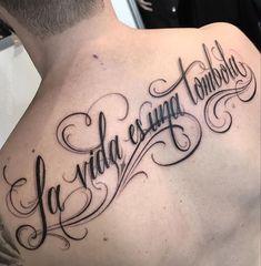 Tatuadora: @elvia_guadian 🇲🇽 Guadalajara. #mexicanpowertattoo #tatuajemexico Chicano Lettering, Tattoo Lettering Fonts, Tattoo Script, Hand Lettering, Symbolic Tattoos, Unique Tattoos, Cute Tattoos, Small Tattoos, Word Drawings