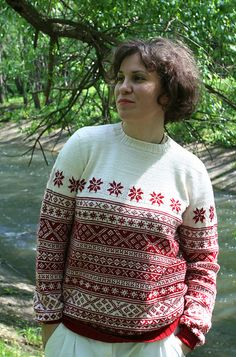 Ravelry: Marmelade's White and red