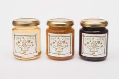 #uxdesign #uidesign #design #graphicdesign #illustration #marketing, ui, ux Jar Packaging, Packaging Design, Branding Design, Japan Graphic Design, Honey Label, Spice Jars, Visual Identity, Brand Identity, Corporate Design