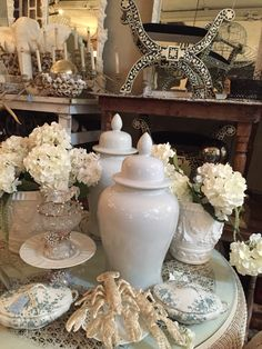 Booth 808 at The Agoura Antique Mart is filled with amazing pieces of furniture, home accessories & decor!