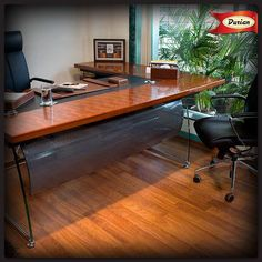 Your office speaks volumes about you, which is why it's important to install quality furniture & interiors.