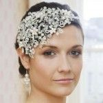 : wedding hair accessories for short hair