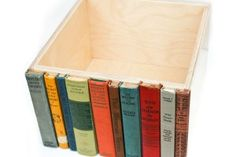 Modern Library Storage Bin by Able + Baker Design