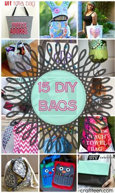 <p>Ah bags, bags, and more bags! Who doesn't love bags? These aren't just purses, but also everyday useful bags. Whether you are going to the beach or cleaning up your kid's toys th
