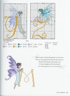 Fairy Alphabet Y and Z