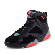competitive price 84764 1af03 Jordan Mens Retro 7 30th BLACK BLUE GRAPHITE RETRO INFRARED 705350-007