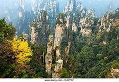 Zhangjiajie National Forest Park in Hunan Province, China