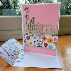 One of the three birthday cards I am making for April birthdays. I just loved the beautiful florals in the Wildflower Wishes (February Paper Pumpkin) Kit. This is a CASE from a card by Susanne Netz. Third Birthday, Paper Pumpkin, Just Love, Florals, Stampin Up, Birthday Cards, February, Birthdays, Card Making