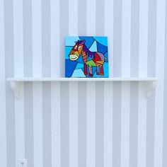 Canvas of the horse by Decoludik on Etsy My Canvas, Canvas Prints, Art Prints, Art Wall Kids, Wall Art, Corrugated Carton, Nursery Decor, Room Decor, Cotton Canvas
