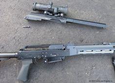 Современное стрелковое оружие мира - Самозарядный карабин Калашников Сайга МК-107 / АК-15 (Россия)