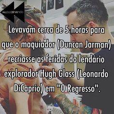#DiCaprio #ORegresso #filme #curiosidades #cinefilos #cinema #oscar