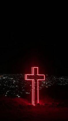 Jesus Wallpaper, Worship Wallpaper, Cross Wallpaper, Bible Verse Wallpaper, Neon Wallpaper, Images Wallpaper, Iphone Background Wallpaper, Tumblr Wallpaper, Aesthetic Iphone Wallpaper
