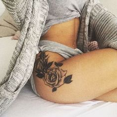 Confession time, I really really really want a booty tattoo.