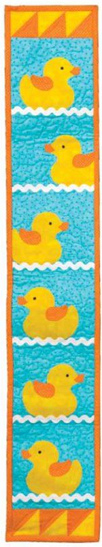 Rubber Duckie Wall Quilt - pattern by AccuQuilt
