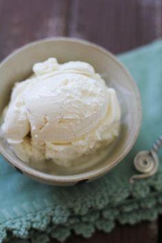 Vanilla Bean & Honey Frozen Yogurt