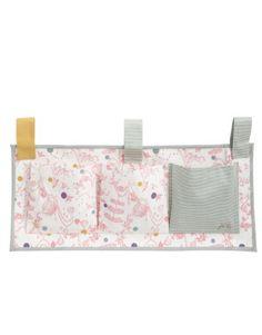 Joules Madhatter Girl's - Organizador con 3 bolsillos para colgar en cama o cuna, color rosa y gris Joules,http://www.amazon.es/dp/B00BABEN2O/ref=cm_sw_r_pi_dp_iDJGtb00RYDCHQN2