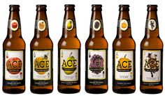 "ACE Cider (California Cider Company) America""s Best Pear Cider, Apple Cider, Hard Cider Brands, Cider Tasting, Craft Cider, Happy Hour Drinks, Alcohol Recipes, Yummy Drinks, Root Beer"