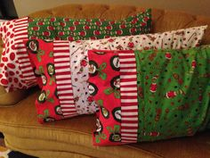 Christmas Grinch Pillows.