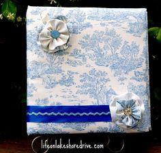 Mothers Day  Fabric Storage Binder Organizer