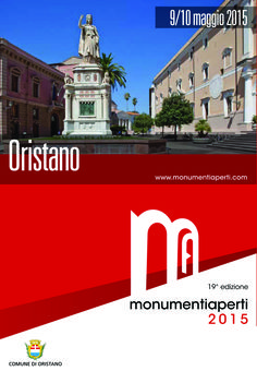9/10 maggio #maperti15 a #Oristano