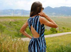 Trash to Couture: Refashioned old dress. diy fashion, diy cloth